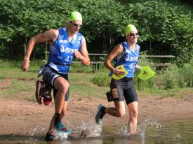 Orca joins the IGNITE SwimRun Series with innovative approach to onsite activation.