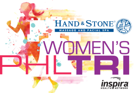Inaugural Hand and Stone Women's Philadelphia Triathlon wins Best First Timer Award