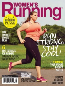 Women's Running Becomes the First Fitness Magazine to Feature a Regular-Sized Runner on Cover