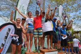 Europeans take top steps at Sunday's XTERRA Costa Rica Championship in Playa Conchal