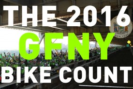World's Biggest Bike Count at the 2016 Campagnolo GFNY Championship NYC