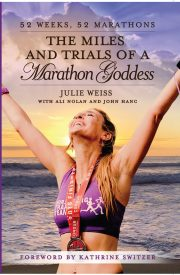 Marathon Goddess Julie Weiss To Run #4/52 And Set to Be One of The Featured Speakers at The Boston Marathon Expo