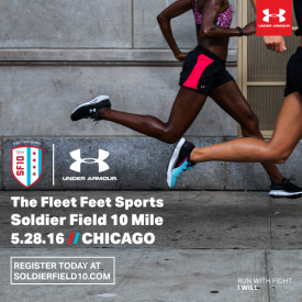 Under Armour New Presenting Sponsor of Chicago's Soldier Field 10 Mile Race