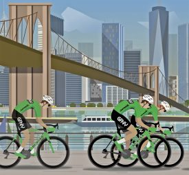 20 races in 2018 for Global Cycling Marathon Brand, GFNY