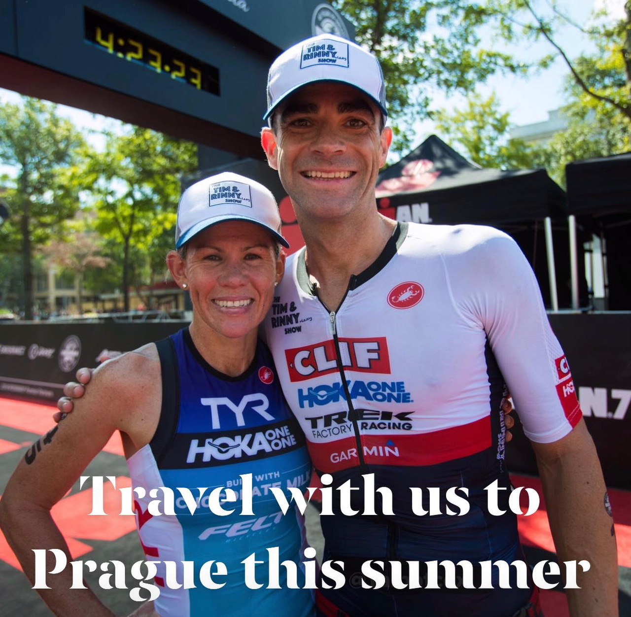 4d1f97d3895 Travel to Prague with World Champion Triathletes Mirinda Carfrae and  Timothy O Donnell