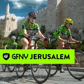 1300 riders to start inaugural GFNY Jerusalem