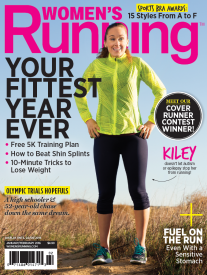 First-Ever Autistic Runner Featured on  Women's Running January/February 2016 Cover
