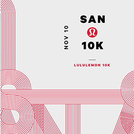 lululemon and DMSE Sports Present the First-Ever 2019 lululemon San Diego 10K