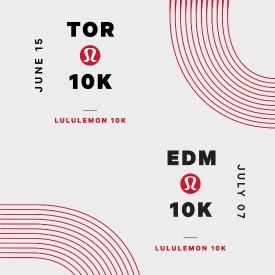 Canada Running Series partners with lululemon for Toronto 10K and Edmonton 10K