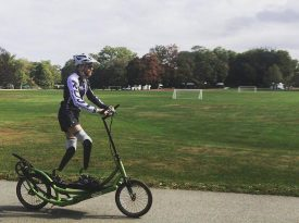 Brian Reynolds Breaks Double Below-the-Knee Amputee Marathon World Record with Help From ElliptiGO