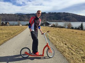 Freewheel Holidays, Leader in Self-Guided Cycling Vacations in Europe, Pioneers Kick Scooter Adventures