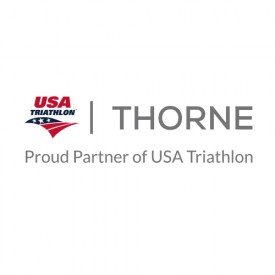 Thorne Research Becomes First-Ever Nutritional Supplements Partner of USA Triathlon