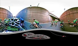 GFNY releases world premiere Virtual Reality video with Campagnolo at Eurobike
