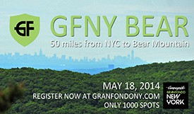 Gran Fondo New York, Inc. announces GFNY BEAR, a 50-mile Bike Ride from New York City to Bear Mountain