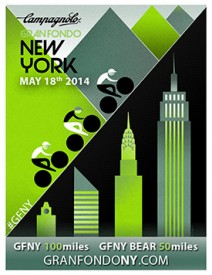 Campagnolo Gran Fondo New York partners with De Rosa to offer the 2014 GFNY PROTOS frame