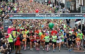 Americans to Find Inner Irish at Rock 'n' Roll Dublin Half Marathon