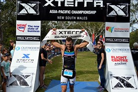 Hugo, Duffy win XTERRA Asia-Pacific Championship