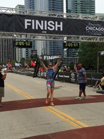 More Than 9,000 Participants Compete Along Lakefront in 32nd Annual Transamerica® Chicago Triathlon