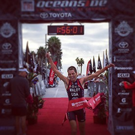 Joe Malloy and Alicia Kaye Are Top Finishers At Life Time Tri Oceanside Oct. 26