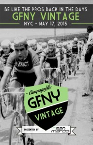 Campagnolo GFNY Vintage presented by Selle San Marco brings classic race bikes to Campagnolo Gran Fondo New York