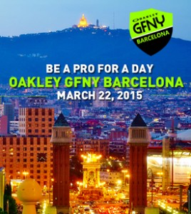 Inaugural Oakley GFNY Barcelona Kicks Off on March 22, 2015