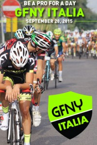 Registration open for 2nd annual GFNY Italia on September 20, 2015