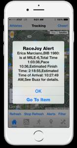 RaceJoy Debuts Industry First: GPS Progress Alerts
