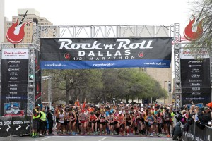"Runners Ready to Rock 'n' Roll in the ""Big D"""