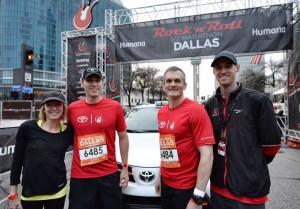 Toyota Hits Its Stride Becoming the Official Vehicle Sponsor of Rock 'n' Roll Marathon and Concert Series