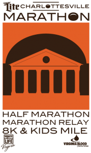 Generation UCAN will be the on-course official nutrition at the Charlottesville Marathon
