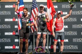 Matt Hanson Breaks Men's Course Record As Angela Naeth Tops Impressive Women's Field To Claim The 2015 Memorial Hermann IRONMAN North American Championship Texas Triathlon Presented By Waste Management