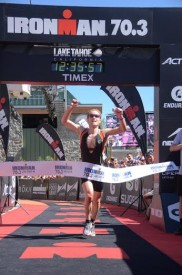 O'mara and Clevenger Take Top Honors at IRONMAN 70.3 Lake Tahoe Triathlon While Lindquist And Wieck Finish First At IRONMAN Lake Tahoe Triathlon